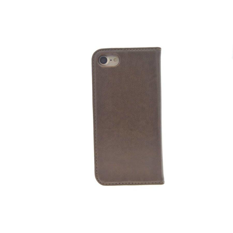 TPU Bookcase Voor Apple IPhone 7/8 - Bruin