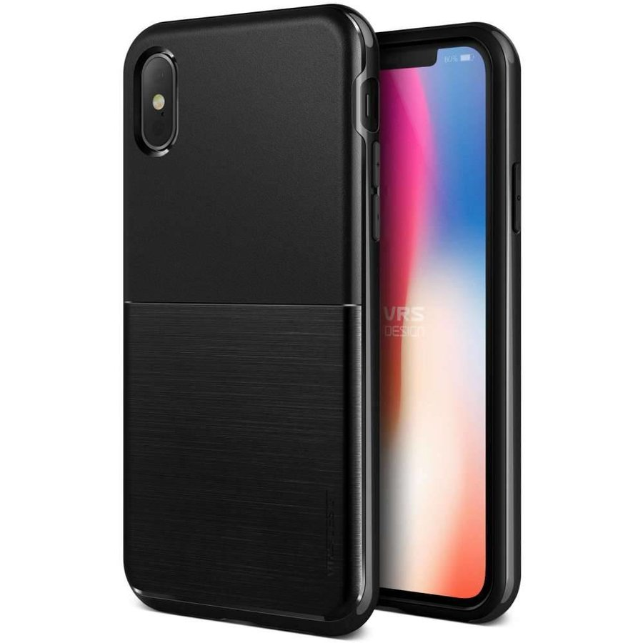 VRS Design Pro Shield Zwart Backcase voor iPhone X