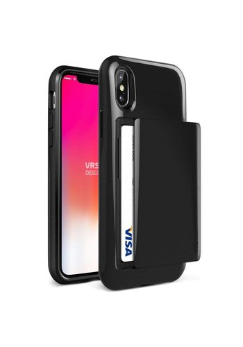 VRS Design Damda Glide Case Zwart iPhone X