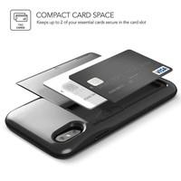 VRS Design Damda Glide Case Zwart voor iPhone X