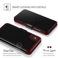 VRS Design Layered Dandy Zwart voor iPhone X