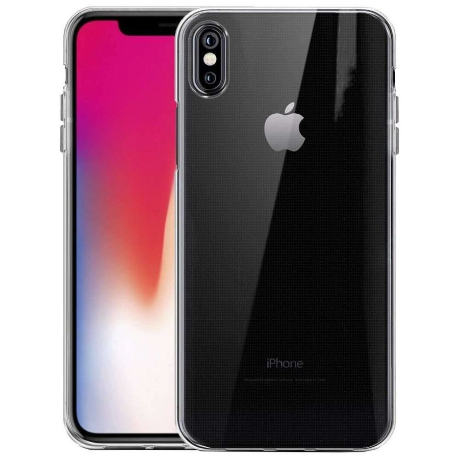 Just in Case Transparant TPU Hoesje voor iPhone X