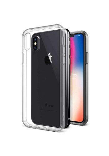 VRS Design Crystal Clear TPU Hoesje iPhone X