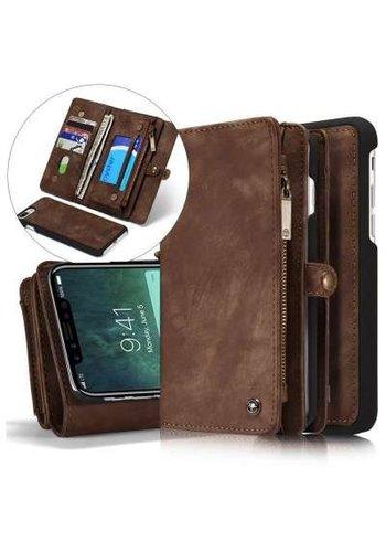 CASEME Vintage Walletcase iPhone X
