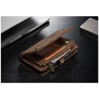 CASEME Vintage Walletcase voor iPhone X