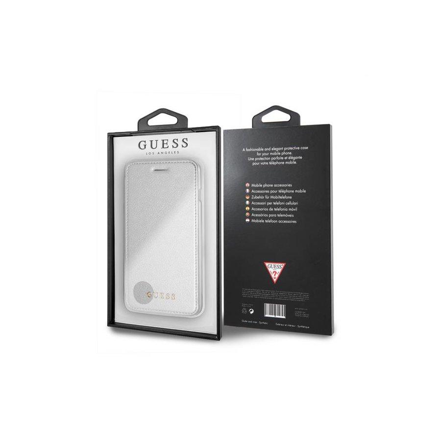 Guess Bookcase Voor Apple IPhone 7/8 Plus - Zilver