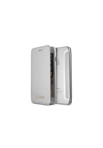Guess Bookcase Voor Apple IPhone 7/8 Plus - Zilver