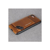 Pierre Cardin Silicone Backcover iPhone 7/8 Plus - Bruin