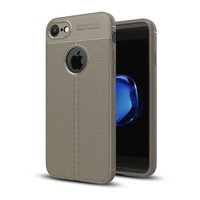 Just in Case Soft Design TPU Backcase Lichtgrijs voor iPhone 8