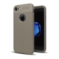 Just in Case Soft Design TPU Backcase Lichtgrijs voor iPhone 8
