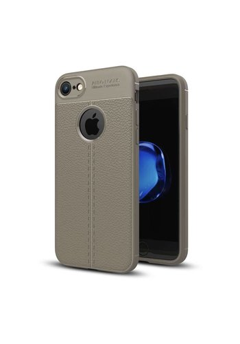 Just in Case Soft Design TPU Backcase Lichtgrijs iPhone 8