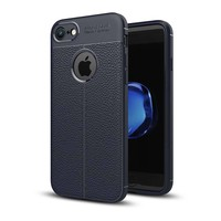 Just in Case Soft Design TPU Backcase Blauw voor iPhone 8