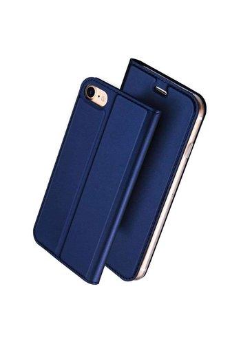 DUX DUCIS  Bookcase Blauw iPhone 7/8