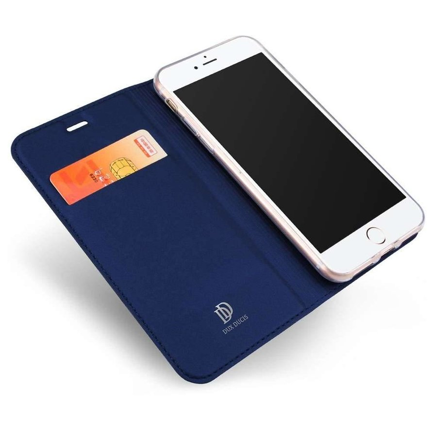 DUX DUCIS Apple iPhone 8 / iPhone 7 Wallet Case Slimline - Zwart