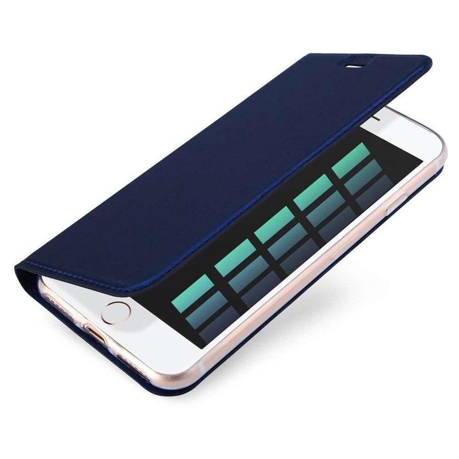 DUX DUCIS  Bookcase Blauw voor iPhone 7/8