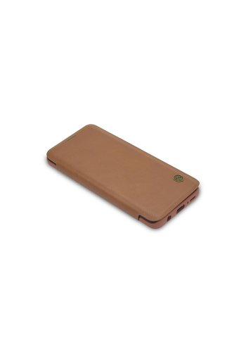 TPU Bookcase Voor Samsung Galaxy S9 - Bruin