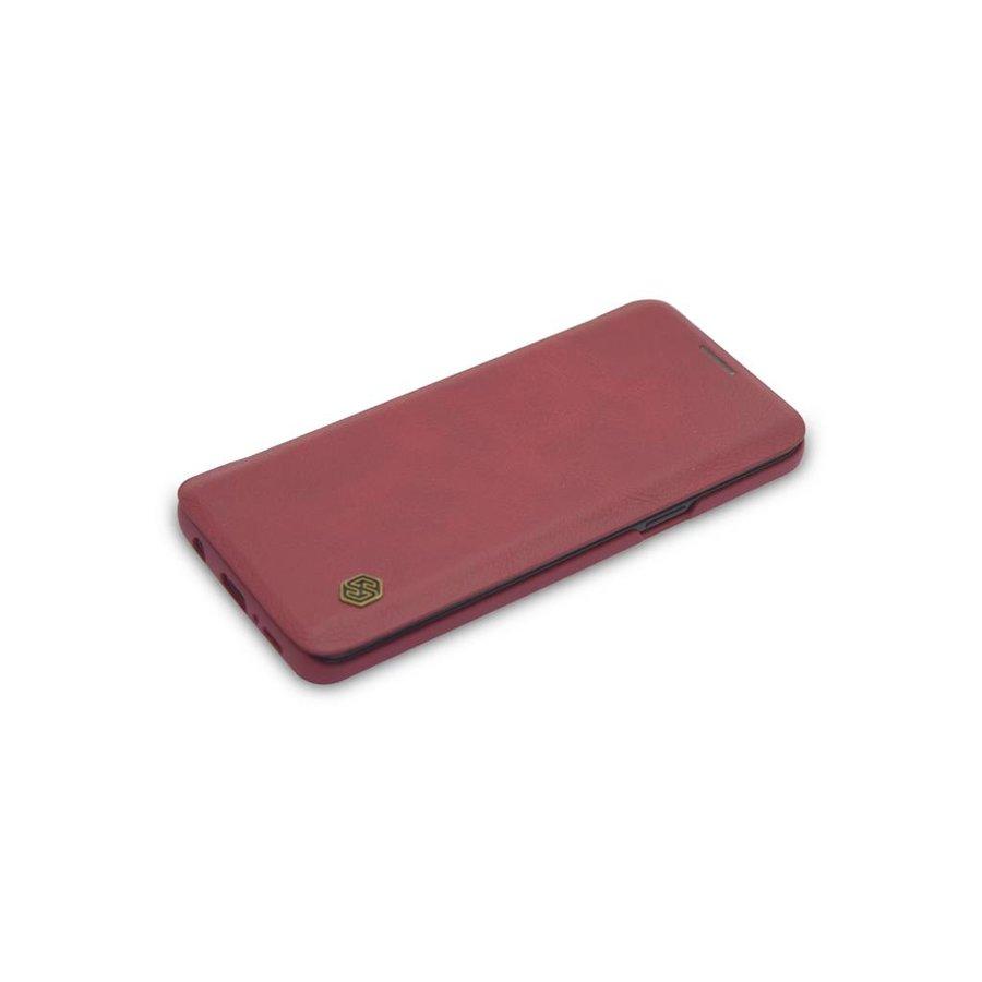 TPU Bookcase Voor Samsung Galaxy S9 - Rood