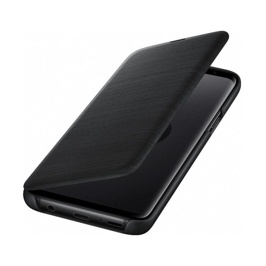Samsung Galaxy S9 Led View Cover (Zwart)