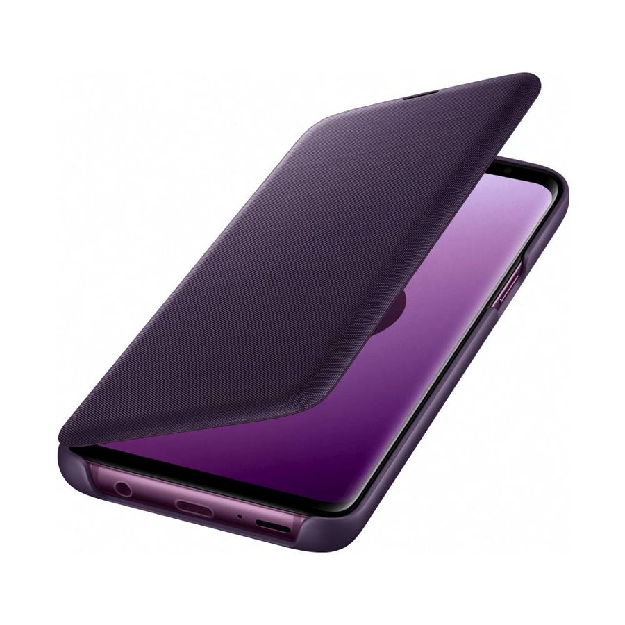 Samsung Galaxy S9 Led View Cover (Paars)