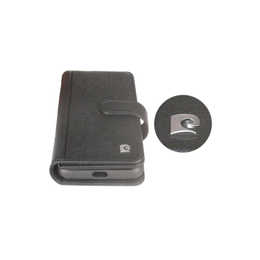 Pierre Cardin Uitgebreide Bookcase Zwart voor iPhone X