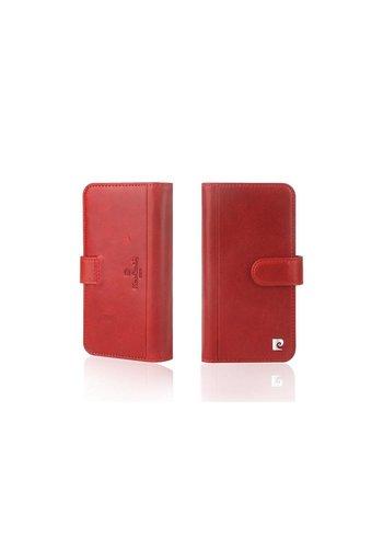Pierre Cardin Uitgebreide Bookcase Rood iPhone X