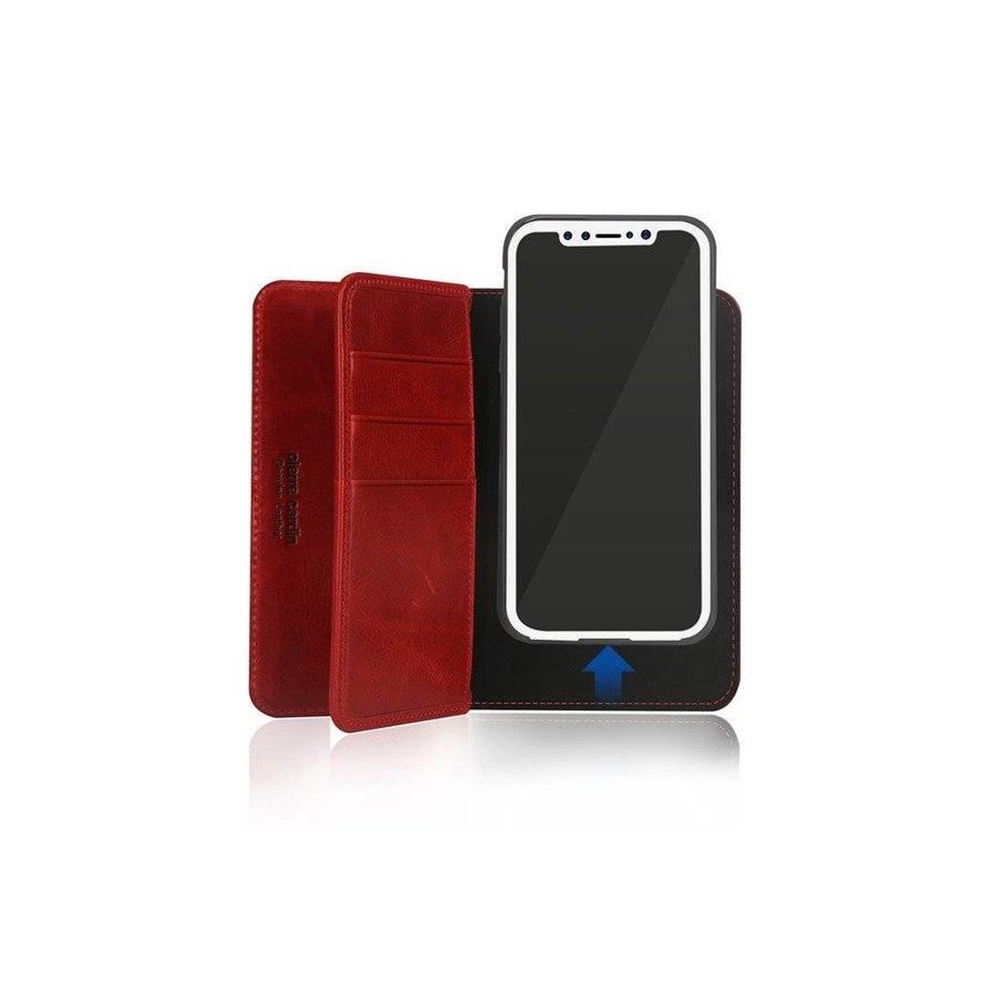 Pierre Cardin Uitgebreide Bookcase Rood voor iPhone X
