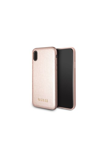 Guess Backcase Rose Gold iPhone X