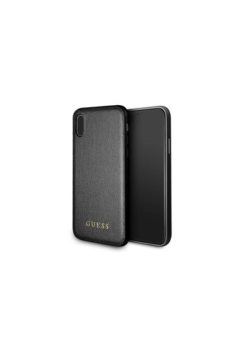 Guess Backcase Zwart iPhone X