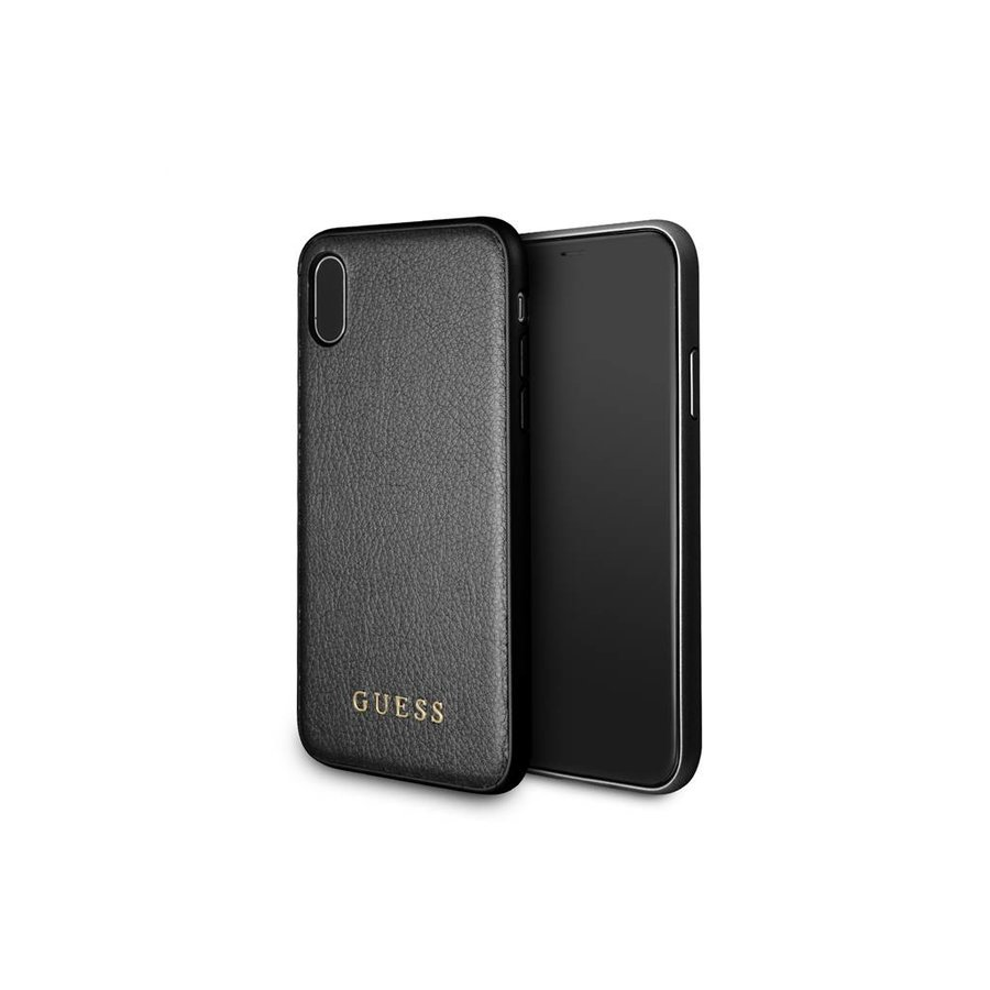 Guess Backcase Zwart voor iPhone X