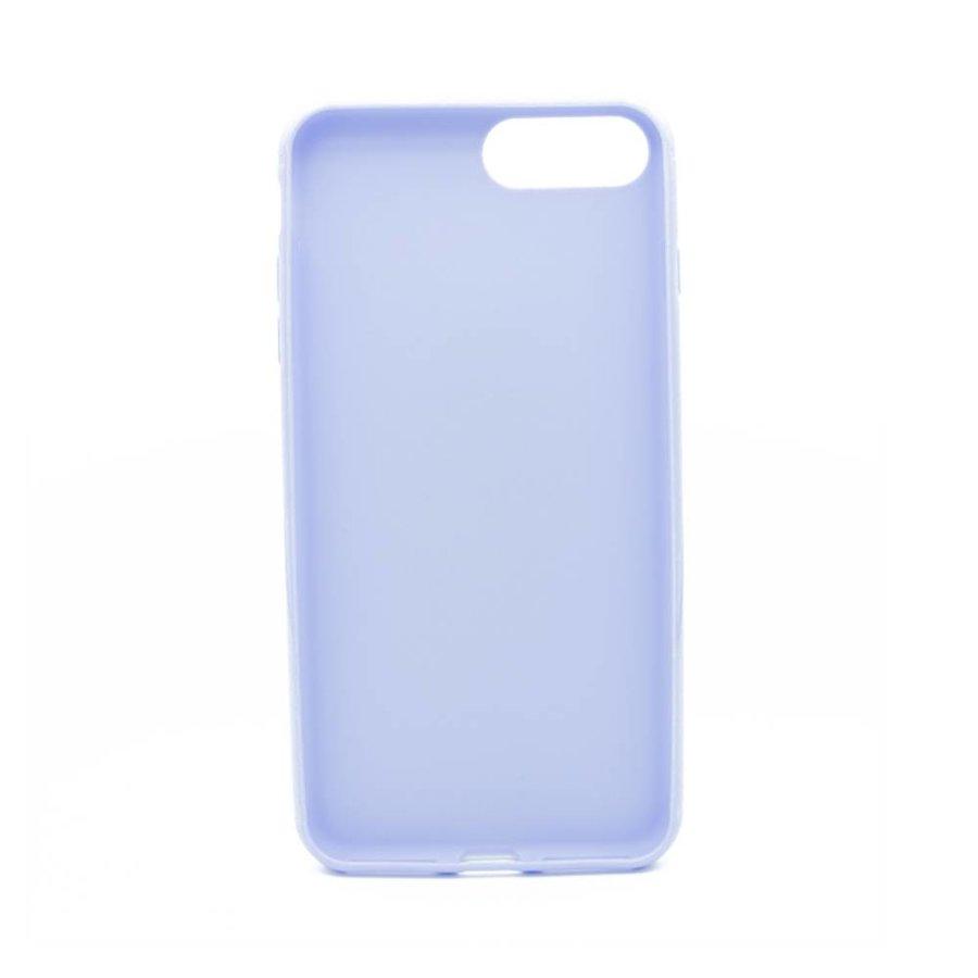 Vcase Paars Siliconenhoesje voor iPhone 7/8 Plus