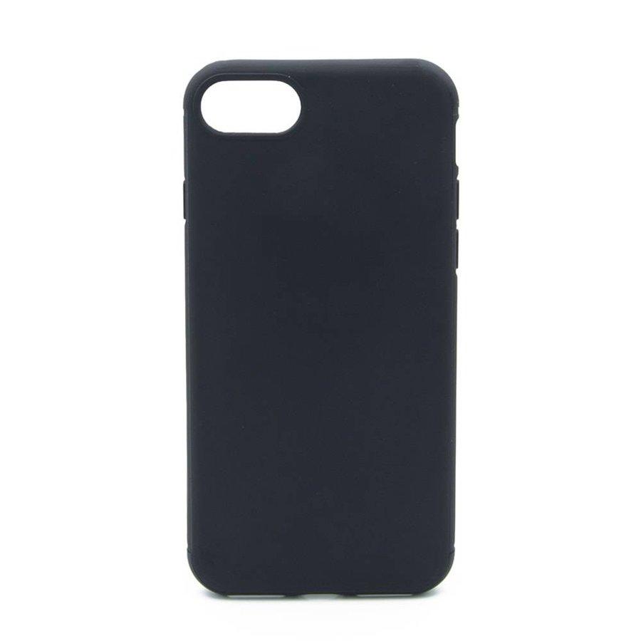 Zwart Siliconenhoesje voor iPhone 7/8