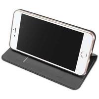 Dux Ducis Dunne Bookcase Grijs voor iPhone 7 Plus / 8 Plus
