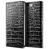 VRS Design Bookcase Krokodillenleer Grijs voor iPhone 7/8 Plus