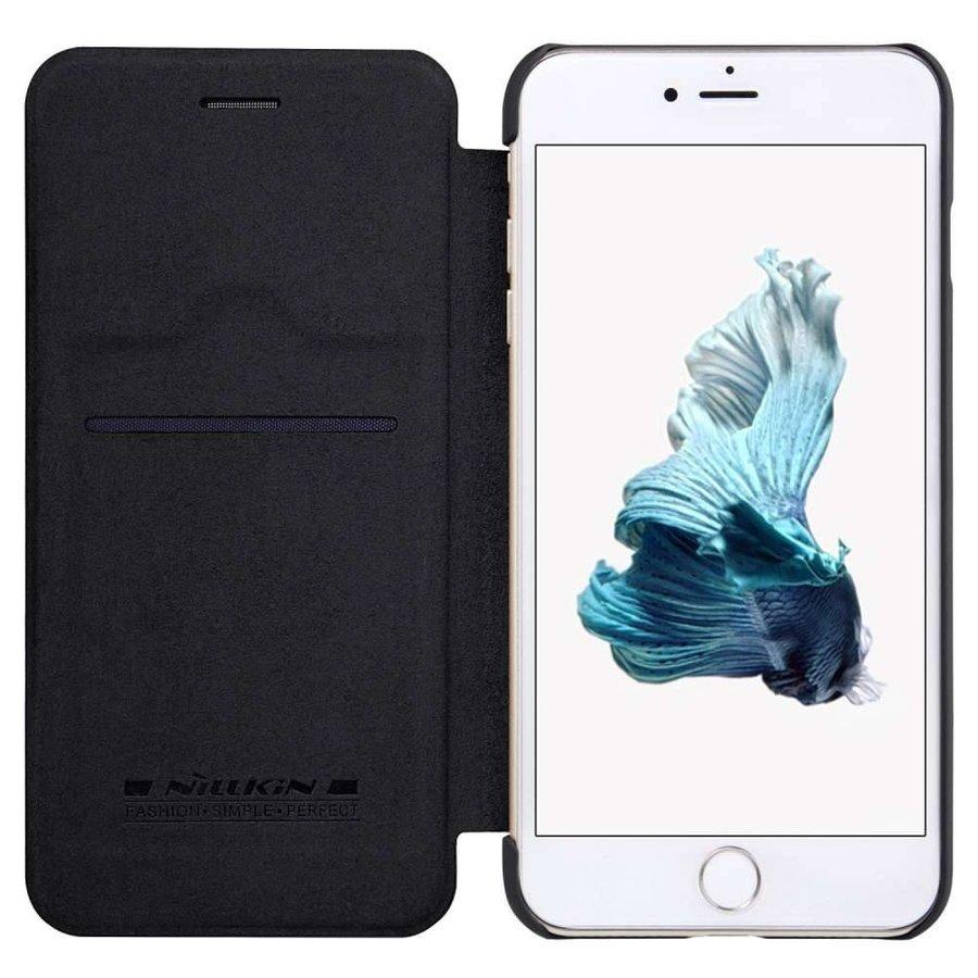 Nillkin Qin Leren Bookcase Zwart voor iPhone 7/8 Plus