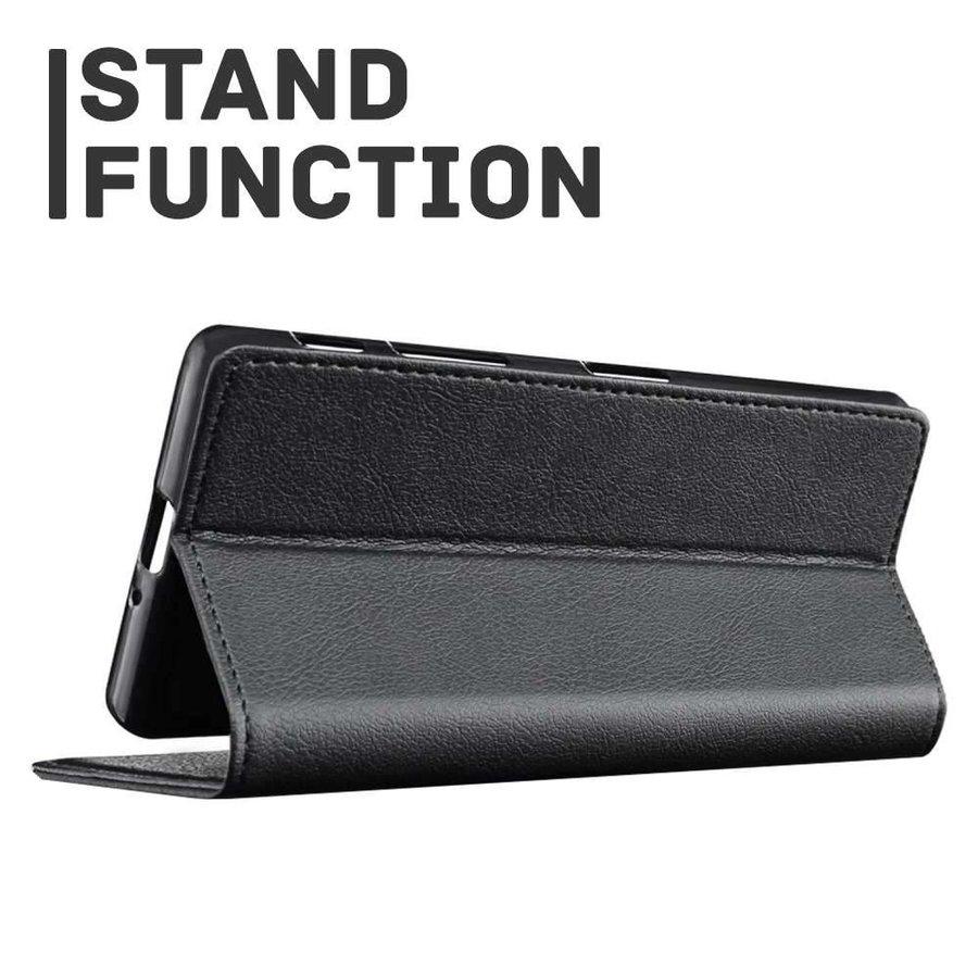 Just in Case Bookcase Zwart voor iPhone 7/8 Plus