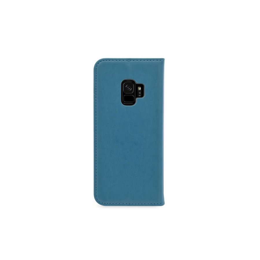 TPU Bookcase Voor Galaxy S9 (Blauw)