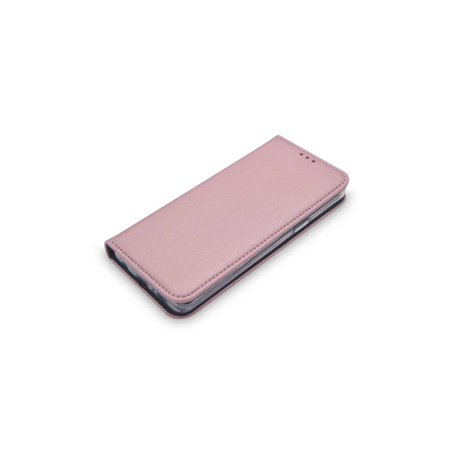 TPU Bookcase Voor Galaxy S9 (Rose Gold)