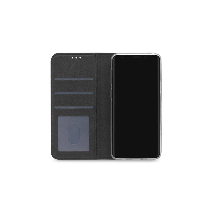 TPU Bookcase Voor Galaxy S9 (Zwart)