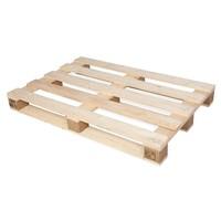Palette en bois à usage unique 1200x800x123mm