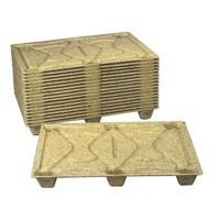 Demi palette en fibre de bois  1200x800mm - légère