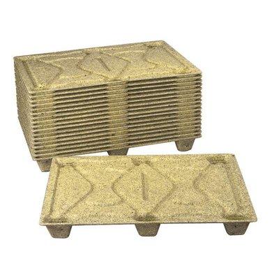 Demi palette en fibre de bois1200x800mm - légère