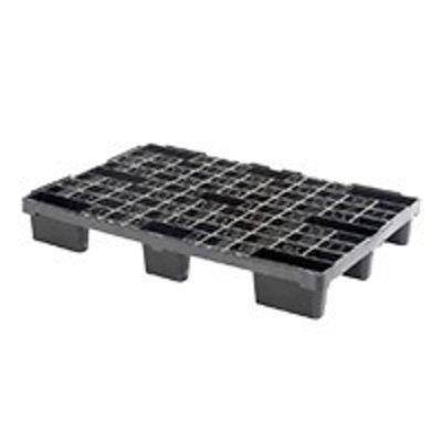 Palette de rétention plastique, emboitable 1140x760x155mm - plancher ajouré