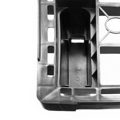 Palette légère, empilable 1200x800x155mm - plancher ajouré
