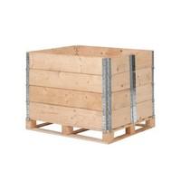 Réhausses bois neufs1200x800mm - 6 charnières