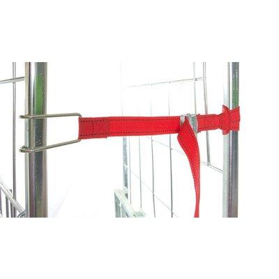 Sangle de fixation rouge - textile