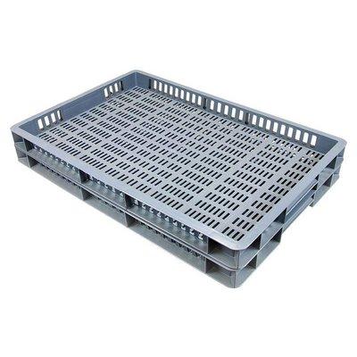 Bac plastique norme Europe 600x400x50 mm, capacité 8 litres