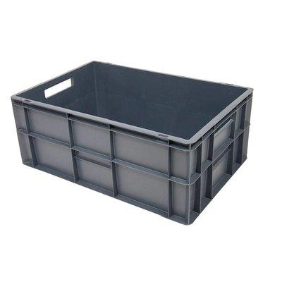 Bac plastique, normes Euro, 600x400x240mm - empilable