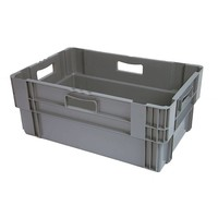 Bac plastique empilable 600x400x245mm - empilable