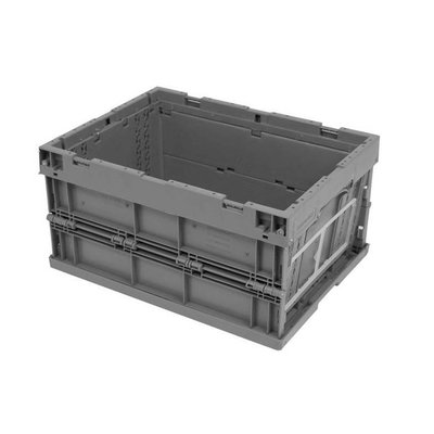 Bac plastique pliable 396x297x214mm - empilable fond et parois latérales