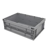 Bac plastique pliable 594x396x214mm - empilable